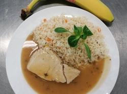 Krůtí-plátek-na-bylinkách-dušená-zeleninová-rýže