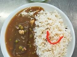 Pražská hovězí pečeně, dušená rýže